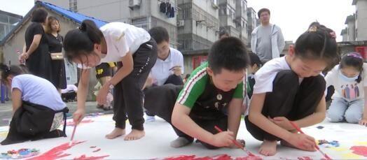 童绘中国梦 七彩庆八一